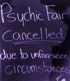 psychic fair cancelled