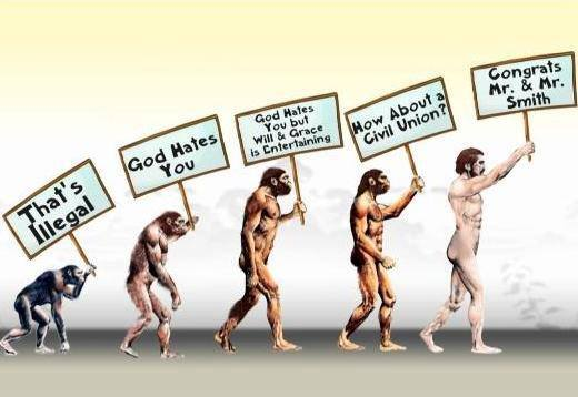 Evolution of Gay Marriage