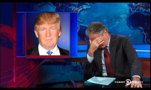 trump daily show GW